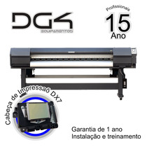 Plotter De Impressão Digital - 1800mm - Cab. Dx7