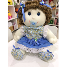 Boneca Lise Em Tecido 50 Cm
