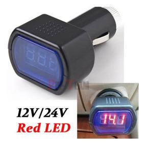 Voltímetro Digital Automotivo 12-24v Bateria