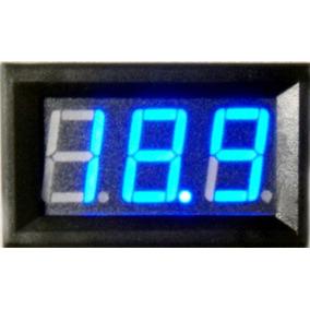 Voltimetro Medidor Bateria 12v 100v 5~30v Carro Moto Barco