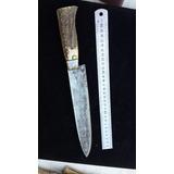 Cuchillo Artesanal Acero Boro