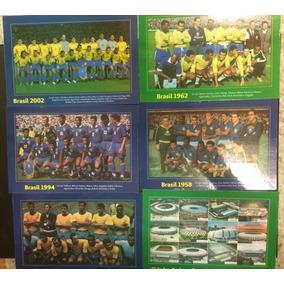 Linda Série De Postais Da Copa Do Mundo De Futebol 2014 !!!