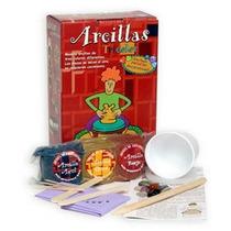 Kit De Arcilla Tricolor Para Modelar No Tóxica 6+ Zincomas