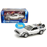 Delorean Time Machine Back To The Future 2 - Welly - 1:24
