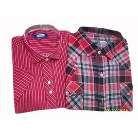 Camisas Hombres Talles Especiales Mangas Cortas Excelente C
