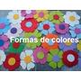 Flores En Goma Eva X10 Unidades!para Esta Primavera 2016