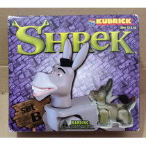 Tk0a Toy Kubrick Shrek Set B Donkey Fiona Mascot / Medicom
