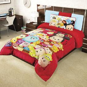 Cobertor Tsum Tsum Disney Provipolar Ligero
