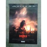 Godzilla 3509 Afiche De 1 X 0.70