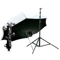 Kit Sombrilla Softbox + Columna 280cm + Rotula Varos Phottix