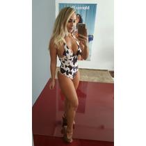 Maiô Morena Rosa Estampado V17