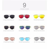 Oculos De Sol Sunglasses Clássico Feminino