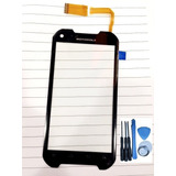 Cristal Touch Motorola Iron Rock Xt626 + Herramientas