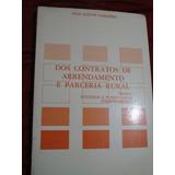 Livro Dos Contratos De Arrendamento E Parceria Rural