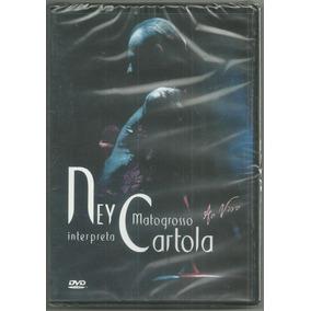 Kit Com 02 Cds+01 Dvd Ney Matogrosso Canta Cartola Lacrados