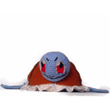 Gorro De Crochet Squirtle Pokémon Go Envío Gratis.