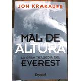 Libro Mal De Altura Ediciones Desnivel Jon Krakauer