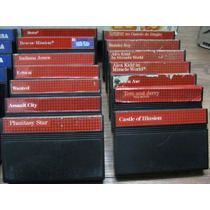 Cartuchos Master System - Vários Títulos