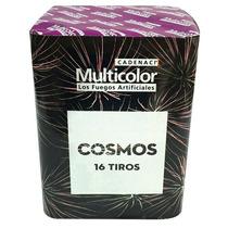 Torta Cosmos Fuegos Artificiales Multicolor Pirotecnia Caden