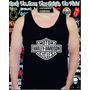 Camiseta Regata Harley Davidson Camisa Moto Rock Motocross