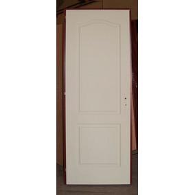 Puerta Placa Crafmaster Masonite Moldurada Blanca 70x200