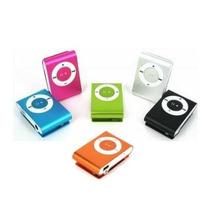 Reproductor Mp3 Shuffle Micro Sd Varios Colores - Te284