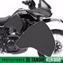 Kit Protector Tanque Kawasaki Klr 650 Fibra De Carbono