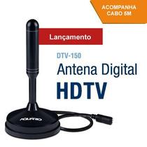 Antena Interna Externa Digital Hd Conversor 360° Cabo #9laj