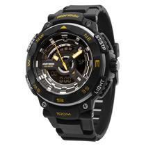 Relógio Masculino Anadigi Mormaii Mo11533/8y Original Loja