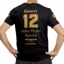 Camiseta F1 Retrô Lotus Ayrton Senna Jps