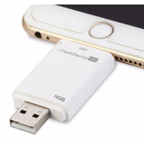 Iflash Memoria Externa Lightning Para Ipad Iphone 16gb