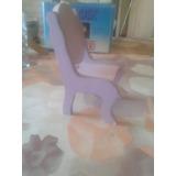 Muebles De Barbie: 1 Silla Y Un Tobogan.