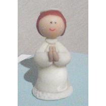Souvenir De Comunion Bautismo Angelitos Nenes De Porcelana