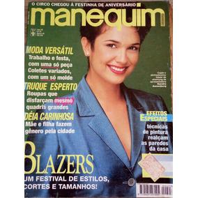 Manequim 423 Março 1995 - Sandra Annenberg (com Molde)