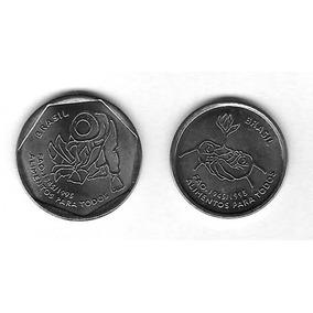 Casal De Meodas Faos - 10 E 25 Centavos