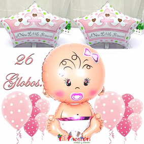 Globo Bebé Gigante Niña, Baby Shower, Bautizo, Corona Bebe