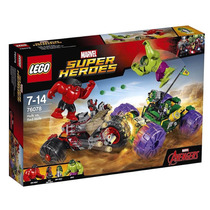 Lego Superheroes Hulk Vs Red Hulk Avengers 2017 Envio Grati