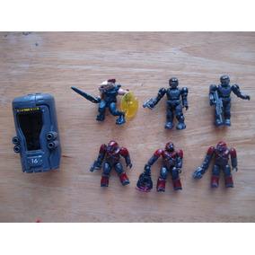 Halo Figuras C/armas De Megablocks En 70.00 Cada Una