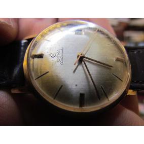 Reloj Automatico De Oro 18k Marca Cyma Funcionando