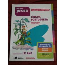 Livro Projeto Prosa -língua Portuguesa - 5º Ano