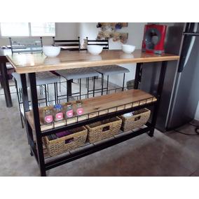 Mueble con ruedas para cocina muebles de cocina en - Mueble barra cocina ...