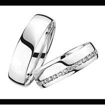 Argollas De Matrimonio Mod. Eglise Oro 10k Matrimoniales