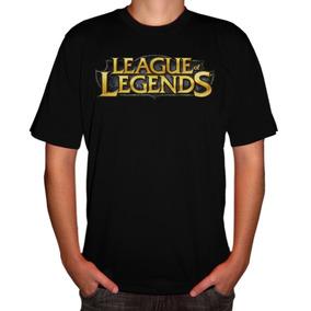 Camiseta Game Lol League Of Legends