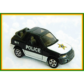 Miniatura Automovel Polícia Toyota Rav 4 Esc.1:64 Majorette