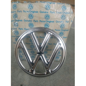 Emblema Vw Do Capô Do Fusca Original Vw