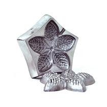 Kit Frisador De Flor Eva 5 Peças Em Aluminio Mais Apostila