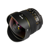Lente Ojo De Pez Opteka 6.5mm F/3.5 Hd Nikon Canon Fisheye