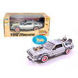 Delorean Time Machine Back To The Future 3 - Welly - 1:24