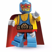 Lego Minifigures Series 1 Super Wrestler 8683 Original