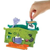 Hot Wheels Conjuntos Dobráveis Garagem Fantasma Mattel
